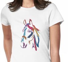 Cool t-shirt Horse Colour me beautiful Womens Fitted T-Shirt