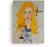 Brigid of Ireland - Naomh Bríd Canvas Print