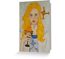 Brigid of Ireland - Naomh Bríd Greeting Card