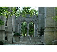 Medieval arches  Photographic Print