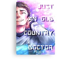 Star Trek - Old Country Doctor Canvas Print