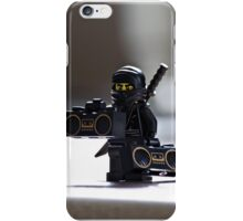 The Black Ninja iPhone Case/Skin