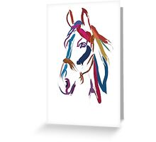 Cool t-shirt Horse Colour me beautiful Greeting Card