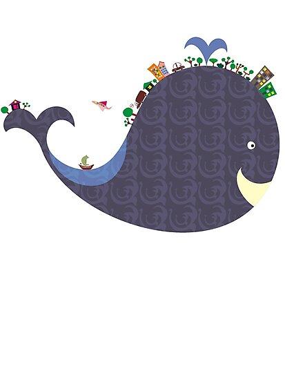 whale by Anastasiia Kucherenko