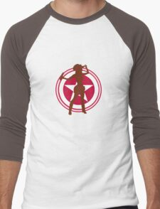 bff Men's Baseball ¾ T-Shirt