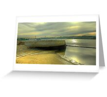 Belém and the river... Greeting Card