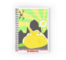 The Mighty Earldom of Lemongrab, the Most Glorious Spiral Notebook