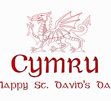 St. David's Day, Saint David, Ddydd Gwyl Dewi Sant  by Moonlake