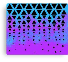 Triangle Puzzle Canvas Print