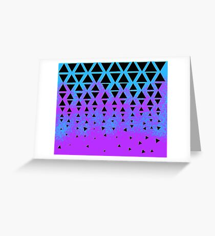 Triangle Puzzle Greeting Card