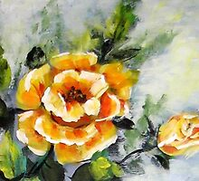 Rose Two by Pamela Plante