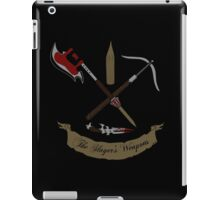 Buffy's Weapons iPad Case/Skin