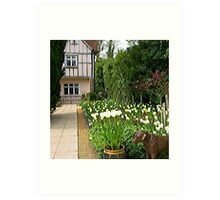 Pashley Manor Gardens Art Print
