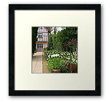 Pashley Manor Gardens Framed Print