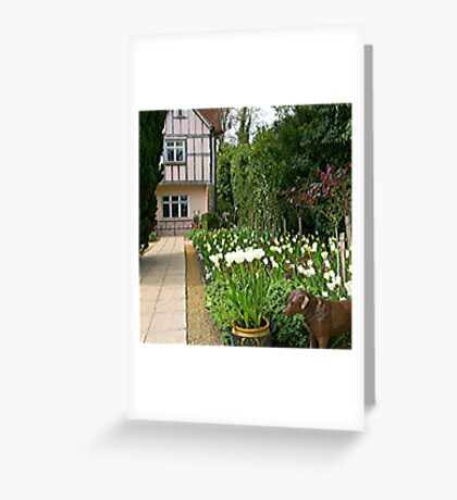 Pashley Manor Gardens Greeting Card