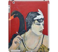 She's an Odd Bird: The Black Swan iPad Case/Skin