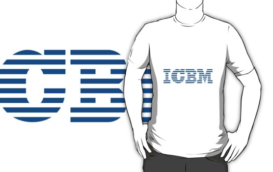 IBM ICBM Missile T-Shirt by ALAN NAJMAN
