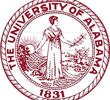 The University of Alabama seal by boogeyman