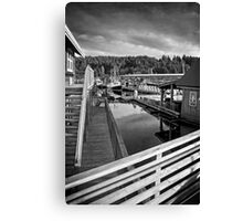 Backwaters of Gig Harbor Canvas Print
