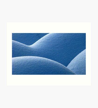 20.1.2010: Snow - Part II Art Print