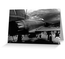 The Typhoon Greeting Card