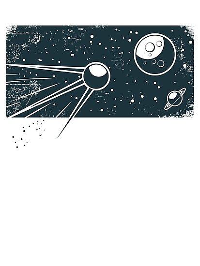 Sputnik by Anastasiia Kucherenko