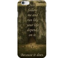 The Maze Runner iPhone Case/Skin