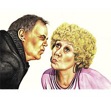 Strong Characters of Coronation Street : Jack and Vera Photographic Print
