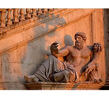 Summer solstice light - Rome Photographic Print