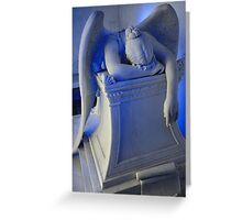 Weeping Angel II Greeting Card