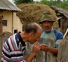 Romanian life - A helping hand by AndyCondratov