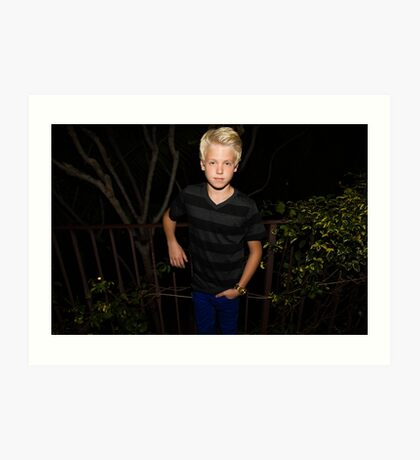 Carson Lueders phone cases and more Art Print