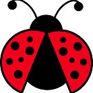 Ladybug Graphic by DragonRoseArt