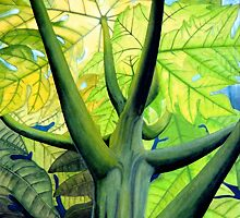 Papaya Tree  by kevin smith  skystudiohawaii