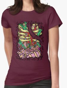 Innards Womens Fitted T-Shirt
