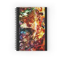 Seahorse: Ocean of Fire Spiral Notebook