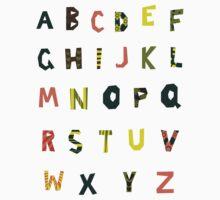 english alphabet Kids Clothes