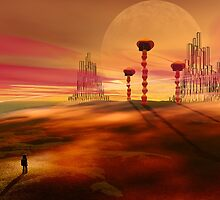 Stranger in an alien landscape by Carol and Mike Werner