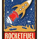 Rocketfuelcoffee.com Logo  by rocketfuelcoffe
