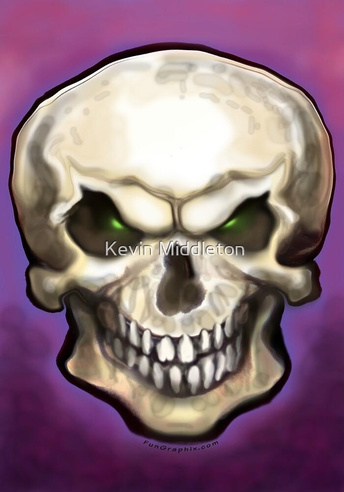 Evil Skull by Kevin Middleton