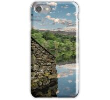 Gwynant Lake Sunset iPhone Case/Skin
