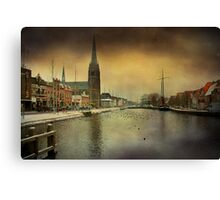 City View Weesp Canvas Print