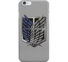 Attack On Titan, The Survey Corps, Scouting Legion, Scout Regiment, Recon Corps, Shingeki no Kyojin iPhone Case/Skin