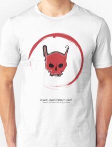 Red Skull White T-shirt T-Shirt