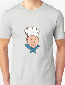 Chef Cook Happy Isolated Cartoon T-Shirt