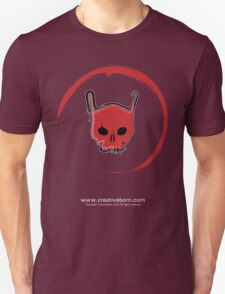 Red Skull Black T-shirt Unisex T-Shirt