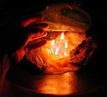 Candle Photo Colette H Guggenheim by Colette Hera  Guggenheim