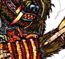 Werewolf With A Manwich Sticker