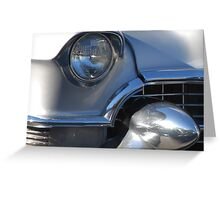 Cadillac attack. Greeting Card