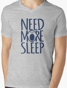 Need more sleep yawn Mens V-Neck T-Shirt